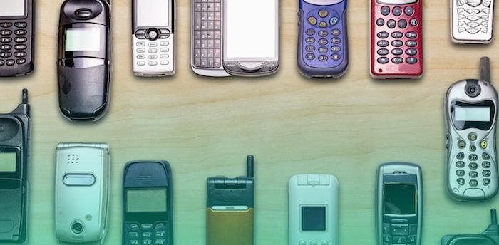 Vieux Telephones Portables