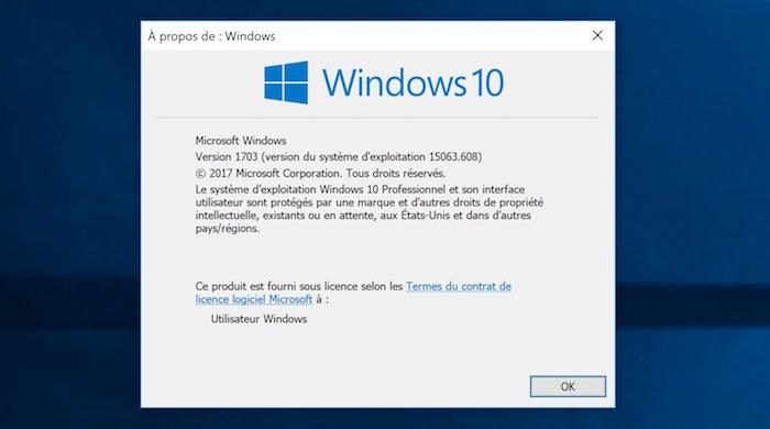 Windows 10 Version Winver 2