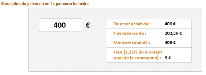 Amazon France Paiement 4 Fois