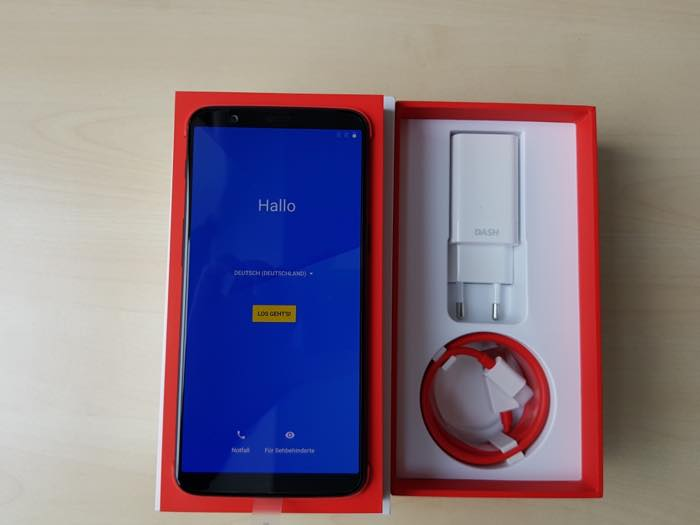Boite OnePlus 5T