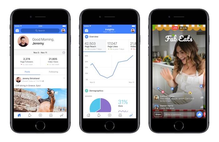 Createur Facebook Application IPhone