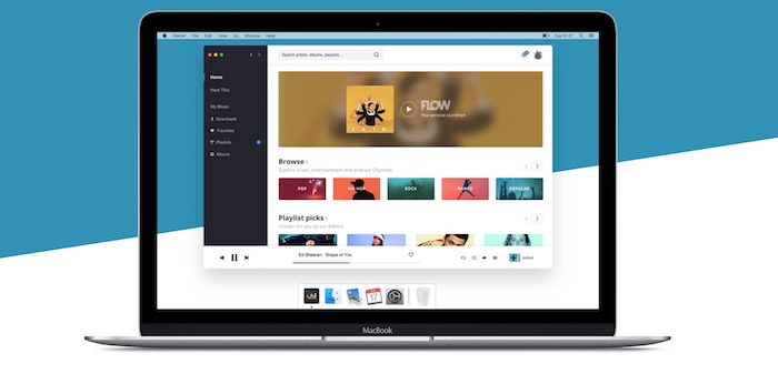 Deezer Application Mac