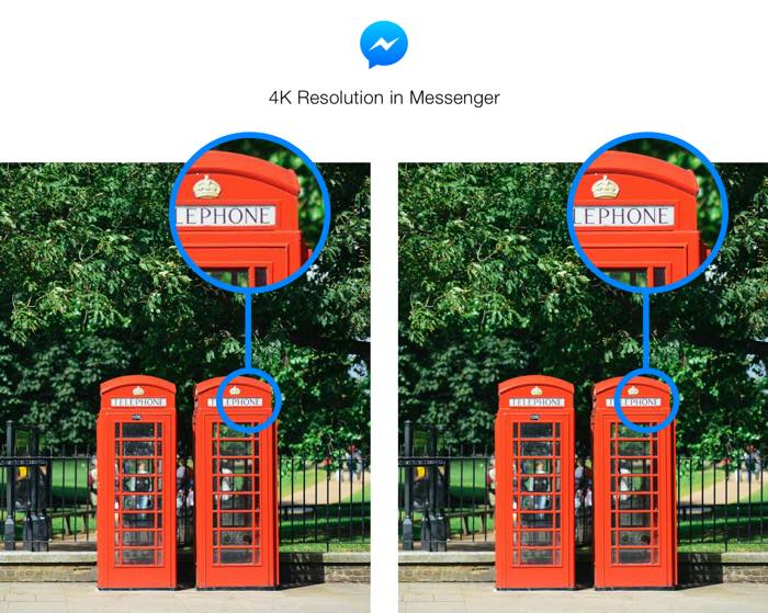 Facebook Messenger Envoi Photos 4K 1