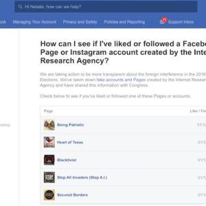 Facebook va indiquer aux utilisateurs s'ils ont suivi des pages russes ayant pu influencer sur l'élection présidentielle