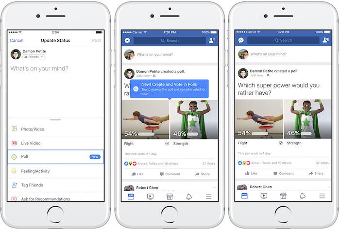 Facebook Sondage Support GIF