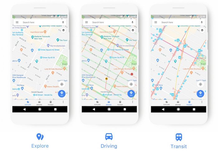 Google Maps Nouveau Design Mobile Novembre 2017