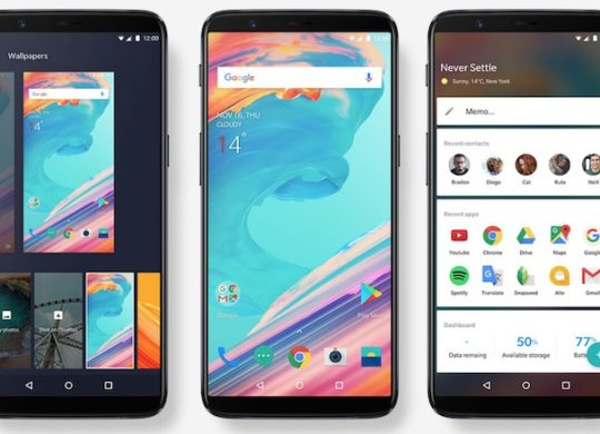 OnePlus 5T Avant Officiel 2