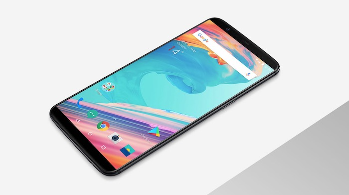 OnePlus 5T Avant Officiel