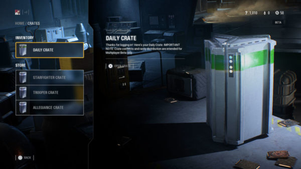 Star Wars Battlefront 2 Daily Loot Box 600x337