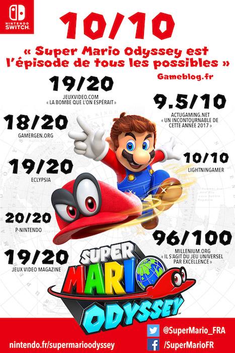 Super Mario Odyssey Notes France