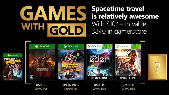 Xbox Live Jeux Offerts Decembre 2017