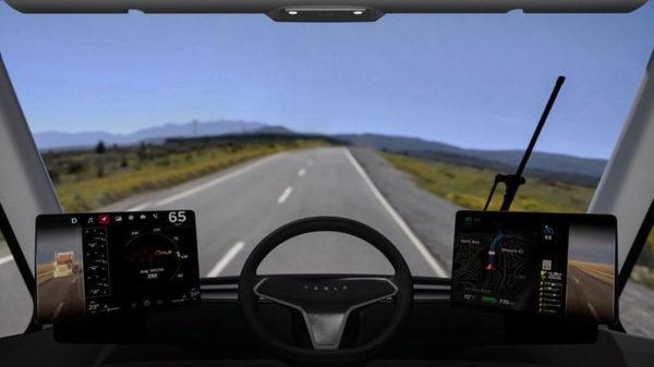 Tesla Semi Cabine 600x337