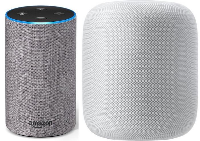 Amazon Echo Vs HomePod