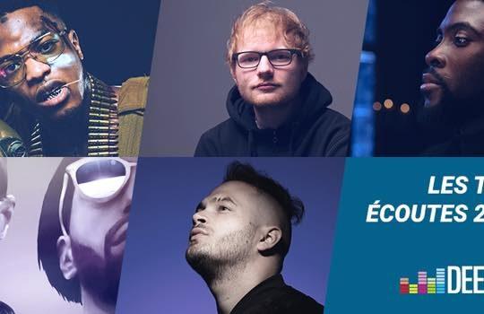 Deezer Artistes Musiques Plus Ecoutes 2017
