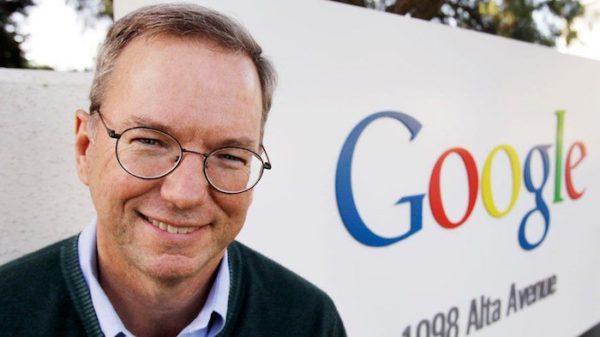 Eric Schmidt Google 600x337