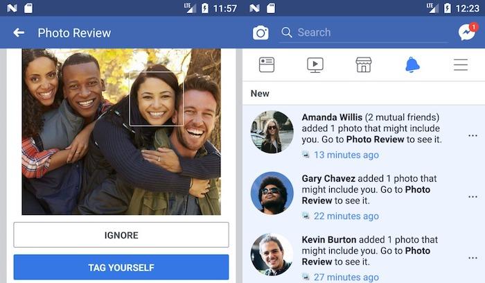 Facebook Reconnaissance Faciale Photo