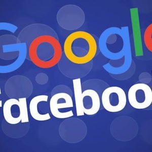Google et Facebook représentent les 3/4 de la publicité en ligne en France
