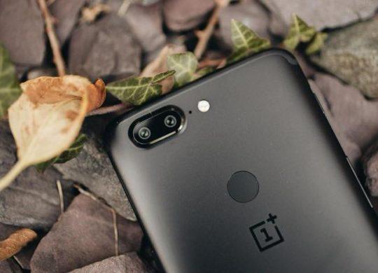 OnePlus 5T Arriere Capteur Empreintes