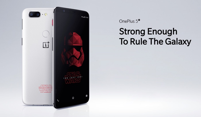 OnePlus 5T Edition Speciale Star Wars