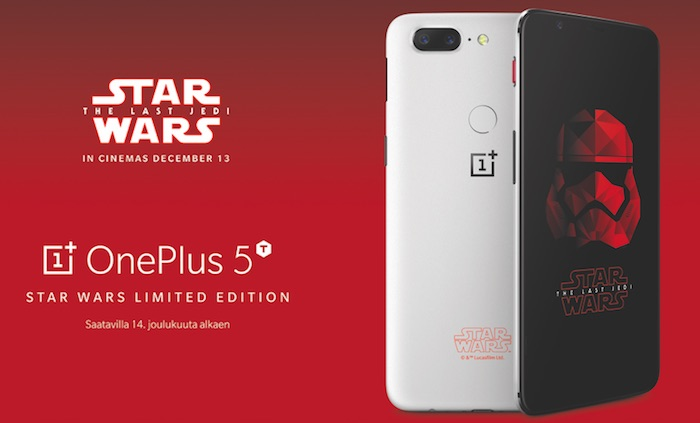 OnePlus 5T Edition Star Wars