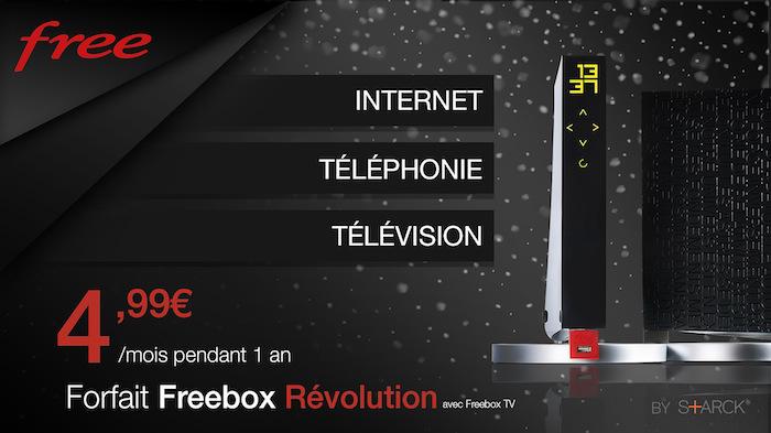 Promo Freebox Revolution 4.99 Euros Decembre 2017