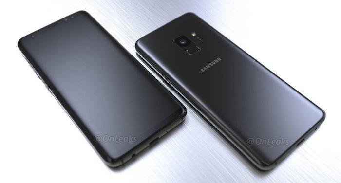 Rendus 3D Galaxy S9