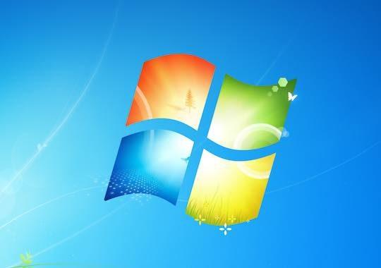 Windows 7 Logo Fond Ecran Par Defaut