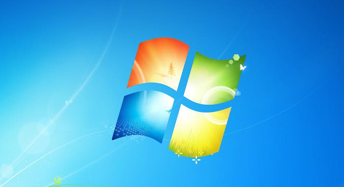 Windows 7 Logo Fond Ecran Par Defaut