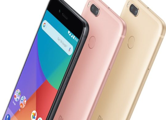 Xiaomi Mi A1 Avant Arriere Officiel