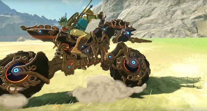 Zelda Breath Of The Wild Moto