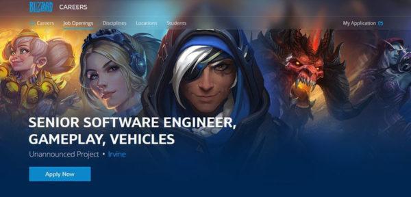 Blizzard Projet Secret 600x288