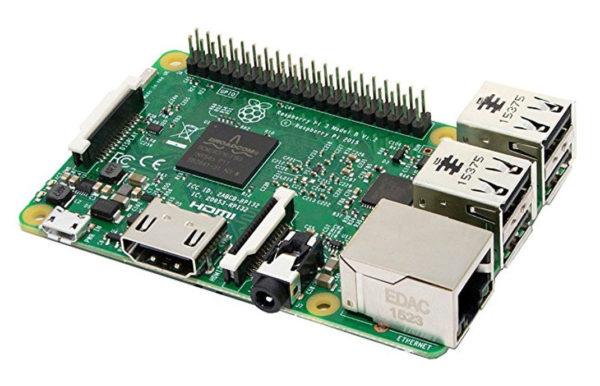 Raspberry Pi Model 3 600x386
