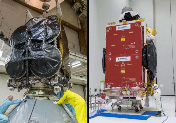 Ariane 5 Satelittes 600x421