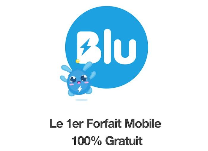 Blu Forfait Mobile Gratuit