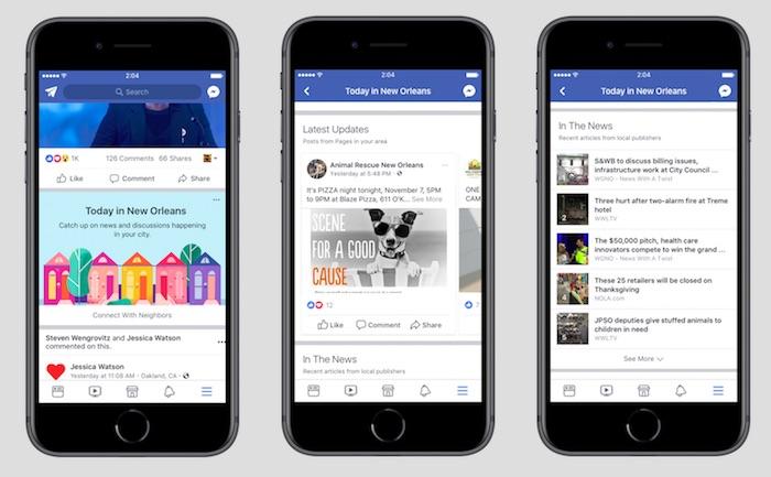 Facebook Informations Evenements Locaux