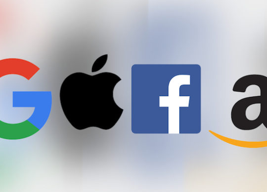 GAFA Google Apple Facebook Amazon Logos