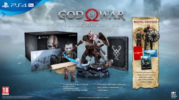 GOW 4 Collector Edition 600x337