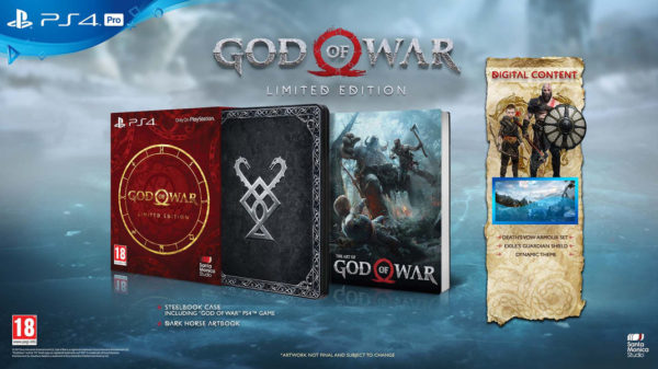 GOW 4 Limied Edition 600x337