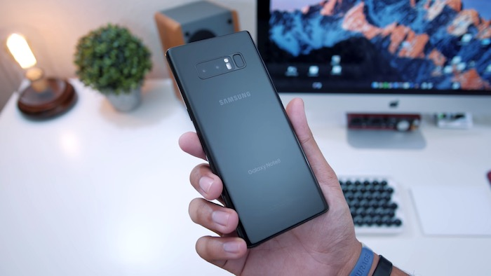 Galaxy Note 8 Arriere