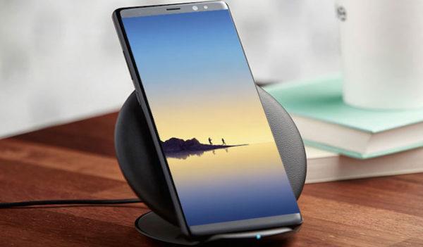 Galaxy Note 8 Recharge Sans Fil 600x351