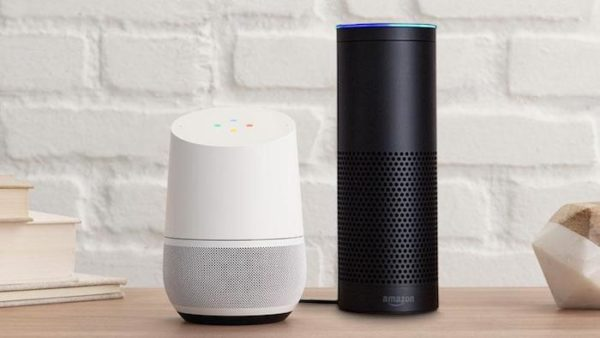 Google Home Vs Amazon Echo 600x338
