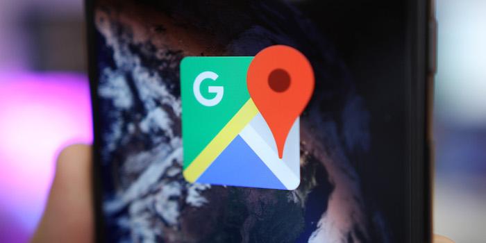 Google Maps Logo Icone