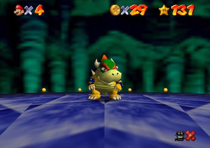 Super Mario 64 Hack Vue Premiere Personne