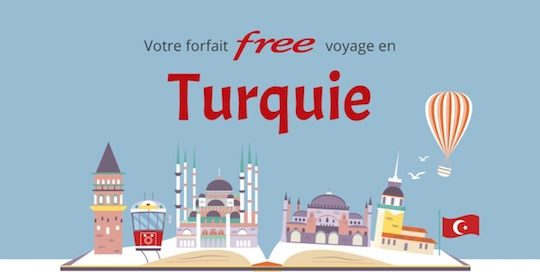free mobile turquie