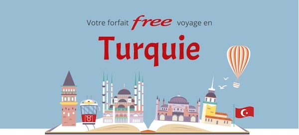 Free Mobile Turquie 600x272