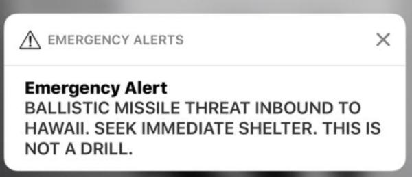 Hawaii Missile Alert 600x259