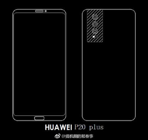 Huawei P20 Plus Schema 476x450