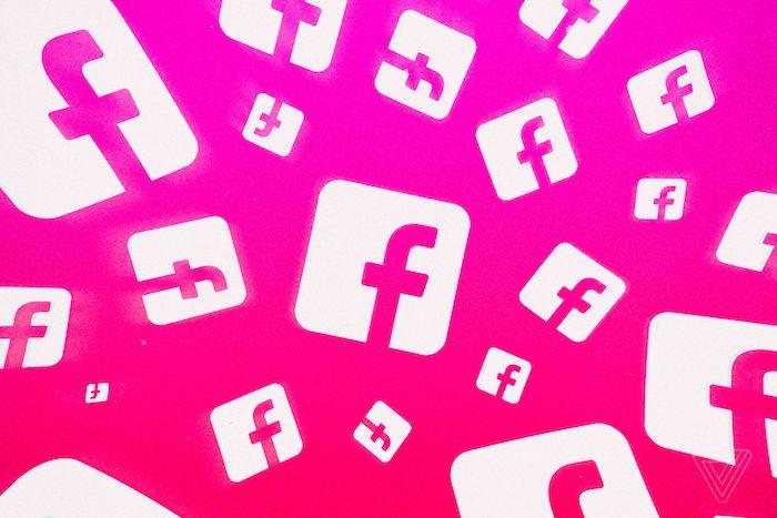 Facebook Logo Rose