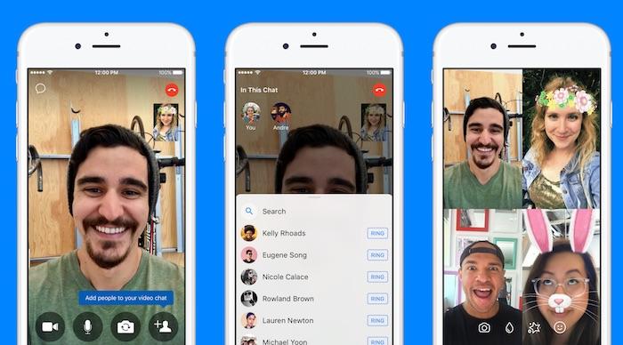 Facebook Messenger Ajout Appels Plusieurs