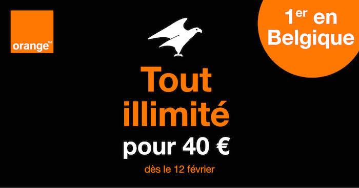 Forfait Illimite Orange Belgique